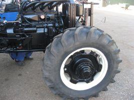 prace traktor