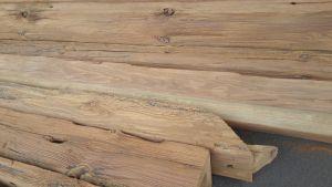 otryskané dřevo 2